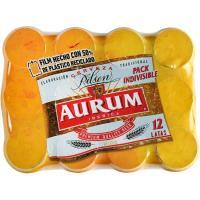 Cerveza AURUM, pack 12x33 cl