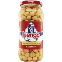 Garbanzo cocido bajo sal LUENGO, frasco 400 g