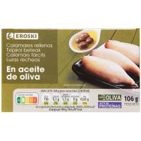 Chipirón en aceite de oliva EROSKI, lata 115 g