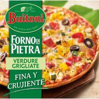 Pizza Forno Di Pietra Vegetale BUITONI, caja 370 g