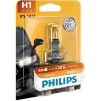 Lámpara auto halógena h-1 + 30% visión PHILIPS, 1 u