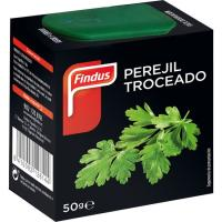 Perejil troceado FINDUS, caja 50 g