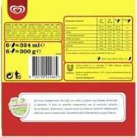 Helado Drácula FRIGO, 6 uds., caja 264 g