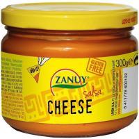 Salsa cheddar ZANUY, frasco 300 g