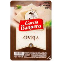 Queso de oveja GARCÍA BAQUERO, lonchas, bandeja 125 g