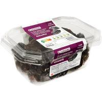 Ciruelas con hueso EROSKI, tarrina 320 g