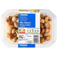 Mix de frutos secos selecto EROSKI, tarrina 175 g