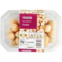 Nuez de macadamia EROSKI, tarrina 135 g