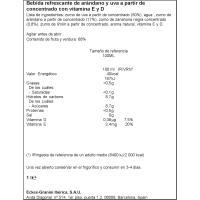 Bebida de arándanos antiox GRANINI, botella 1 litro