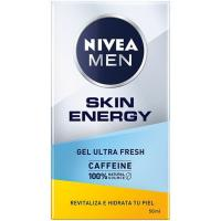 Gel hidratante Skin Energy NIVEA For Men, dosificador 50 ml