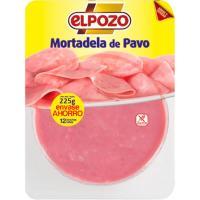 Mortadela de pavo ELPOZO, bandeja 250 g