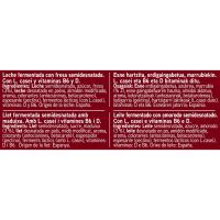 Activitas de fresa EROSKI, pack 12x100 ml
