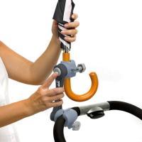 Sujeta paraguas universal DEKI Dry & Go, para coches de paseo, sillas ruedas 1 ud