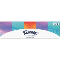Pañuelo de papel mini collection KLEENEX, paquete 15 uds.