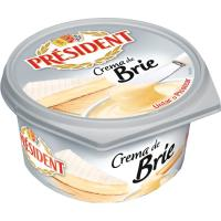 Crema de queso Brie PRESIDENT, tarrina 125 g