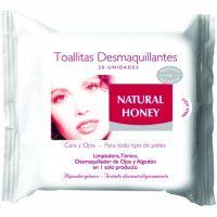 Toallitas desmaquilladoras faciales N. HONEY, paquete 30 uds