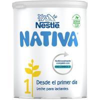 Leche de iniciación NESTLÉ Nativa 1, lata 800 g