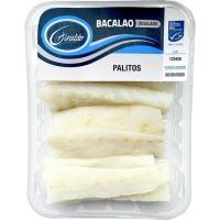 Palitos de bacalao desalado GIRALDO, bandeja 250 g