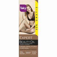 Crema depilatoria TAKY Expert Beauty Oil, tubo 100+30 ml