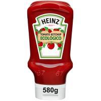 Ketchup ecológico HEINZ, bocabajo 580 g