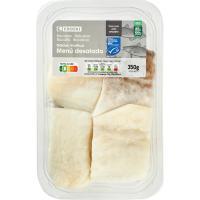 Bacalao desalado menú MSC EROSKI, bandeja 400 g