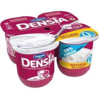 Postre 0% natural edulcorado Densia DANONE, pack 4x120 g