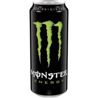 Bebida energética Green MONSTER, lata 50 cl