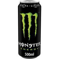 Bebida energética Green MONSTER, lata 50 cl