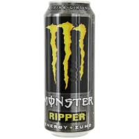 Bebida energética Ripper MONSTER, lata 50 cl