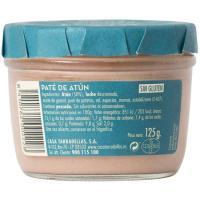 Paté de atún CASA TARRADELLAS, frasco 125 g