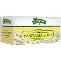 Manzanilla con anís HORNIMANS, caja 25 sobres
