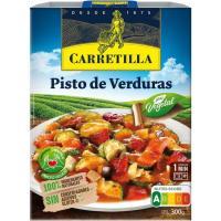 Pisto de verduras CARRETILLA, bandeja 300 g