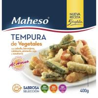 Tempura de verduras MAHESO, bolsa 400 g