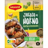 Jugoso al horno pollo con hierbas MAGGI, sobre 34 g