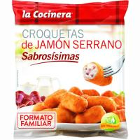 Croquetas de jamón LA COCINERA, bolsa 800 g