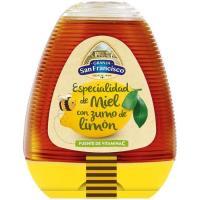 Miel con limón GRANJA SAN FRANCISO, dosificador 350 g