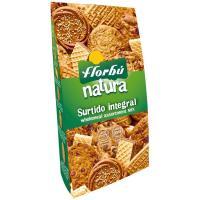 Surtido galletas integral FLORBU, bolsa 390 g