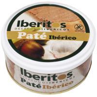 Paté de cerdo ibérico IBERITOS, lata 250 g
