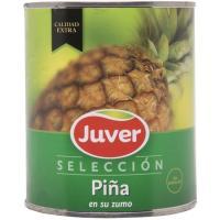 Piña en rodaja JUVER, lata 490 g