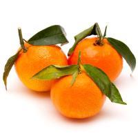 Mandarina con hoja, al peso, compra mínima 1 kg