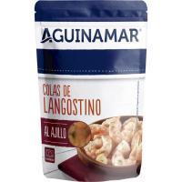 Colas de langostino al ajillo AGUINAMAR, sobre 105 g