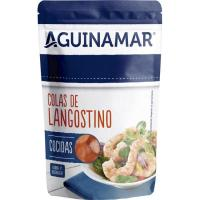 Colas de langostino al natural AGUINAMAR, sobre 90 g