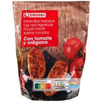 Panecillos con tomate EROSKI, paquete 160 g