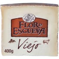 Queso de oveja viejo leche cruda FLOR DE ESGUEVA, cuña 400 g