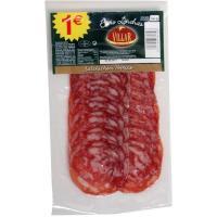 Salchichón ibérico extra VILLAR, sobre 50 g