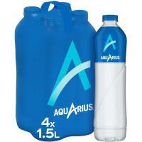 Bebida isotónica de limón AQUARIUS, pack 4x1,5 litros