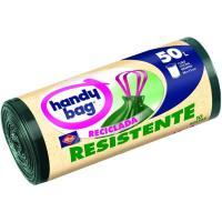 Bolsa de basura reciclada 50 l. HANDY BAG, paquete 10 unid.