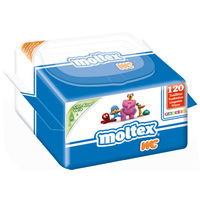 Toallitas wc MOLTEX, paquete 120 uds.