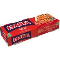 Atún en tomate ISABEL, pack 3x85 g