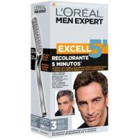 Tinte moreno natural N.3 EXCELL 5 Men, caja 1 ud